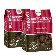 2 x Govinda Bio Buchweizen-Früchte-Taler