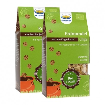 2 x Govinda Bio Erdmandel-Chips