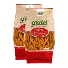 Govinda Bio Goodel Nudeln, Rote Linsen-Süsslupine-Kurkuma
