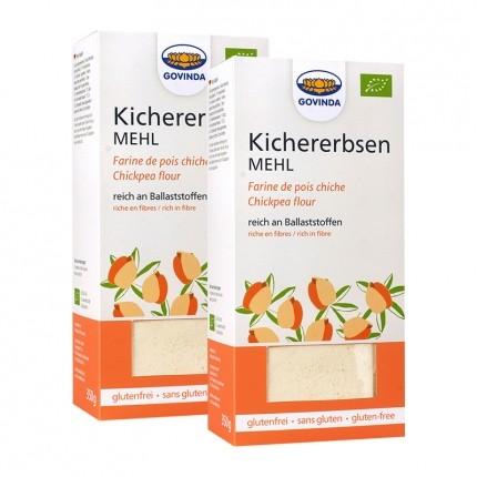 Govinda Kichererbsenmehl Bio Doppelpack