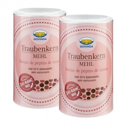 Govinda Traubenkernmehl Bio Doppelpack