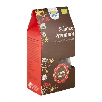 Govinda Schoko-Premium-Kugeln