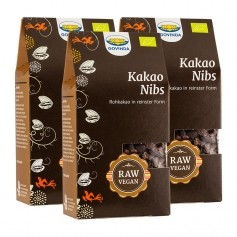 3 x Govinda Kakao-Nibs Bio