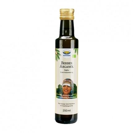 Govinda, Huile d'argan native bio, huile de cuisson