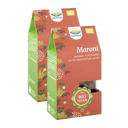 Bio Maroni-Konfekt (2 x 100 g)