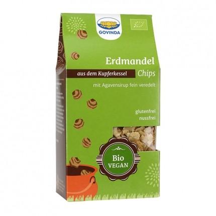 2 x Govinda Økologisk Jordmandel-Chips