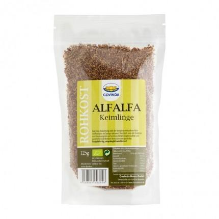 Govinda økologiske alfalfa-frøplanter