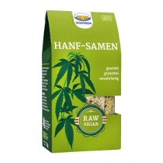 Govinda Organic Peeled Hemp Seeds