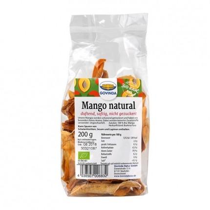 Govinda Torkad Mango Naturell