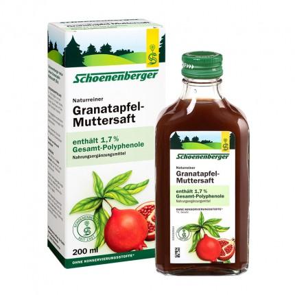 Granateple-Direktsaft Schoenenberger