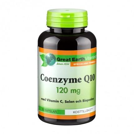 Great Earth Coenzyme Q10, tilskud - køb det hos nu3!