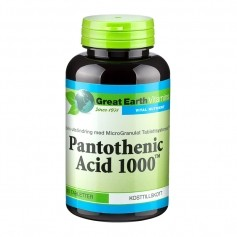 Pantothenic Acid B5 1000mg 90t