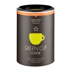 Green Cup Coffee Espresso CASA RUIZ