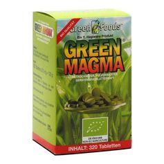 Green Magma Gerstengrasextrakt, Tabletten