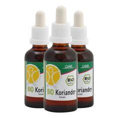 3 x Koriander Extrakt Bio, Flüssigkeit