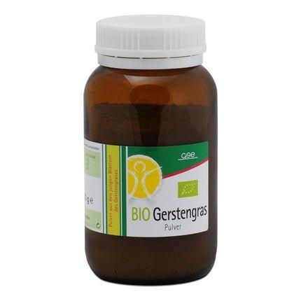 Gerstengras Bio, Pulver
