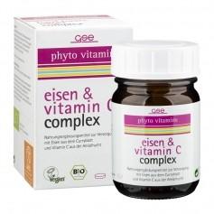 GSE Phyto Vitamins Eisen & Vitamin C Complex, Tabletten