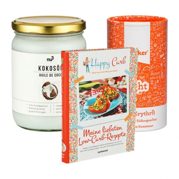 Happy Carb Starterpaket mit Low Carb Kochbuch