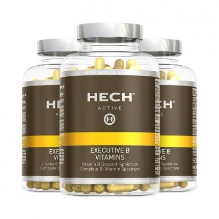 3 x Hech Executive B Vitamins Kapseln