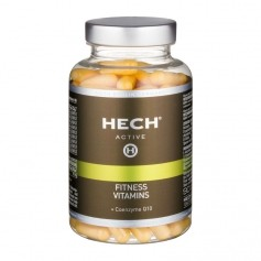 HECH Functional Nutrition, vitamines complètes + Q10, gélules