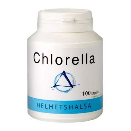 Helhetshälsa Chlorella kapslar