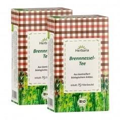 Herbaria Bio Brennnesseltee, Filterbeutel Doppelpack