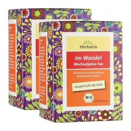 Herbaria Bio Im Wandel Wechseljahre-Tee (2 x 15...