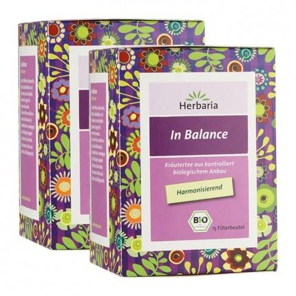 Herbaria Bio In Balance Tee (2 x 15 Beutel)