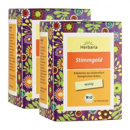 Herbaria Bio Stimmgold Tee (2 x 15 Beutel)