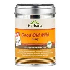 Herbaria Good Old Mild Currygewürz Bio