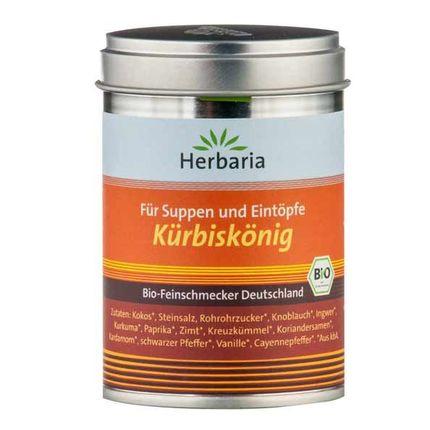 Herbaria Kürbiskönig - Suppen- und Eintopfgewürz