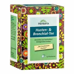 Herbaria Husten- & Bronchialtee, Filterbeutel