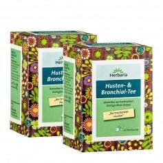 Herbaria Husten- & Bronchialtee Doppelpack
