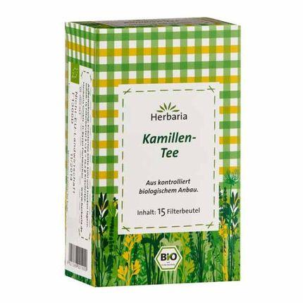 2 x Herbaria kamilleblomst-te, filterpose