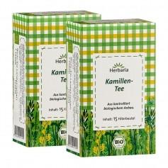Herbaria Kamillenblüten-Tee, Filterbeutel Doppelpack