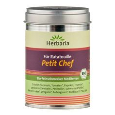 Herbaria Petit Chef - Ratatouille Seasoning