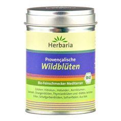 Herbaria provencalisk ekologisk krydda med vilda blomblad