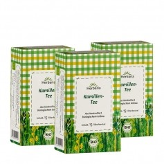 3 x Herbaria Kamillenblüten-Tee