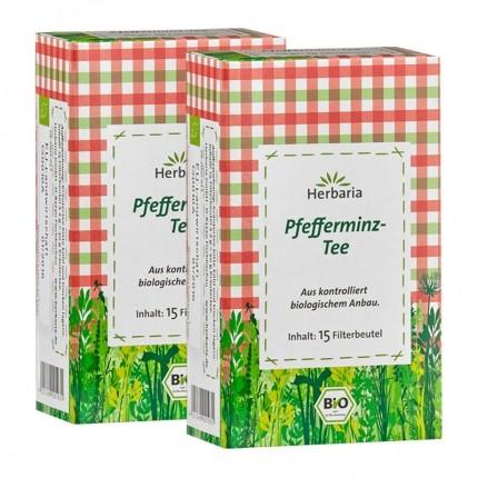 Herbaria Pfefferminztee, Filterbeutel Doppelpack