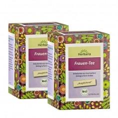 Herbaria Frauen-Tee Doppelpack, Filterbeutel