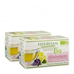 2 x Herbesan Bio-Stilltee, Zitrone