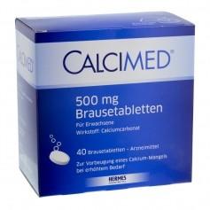 Biolectra Calcimed 500, Brausetabletten