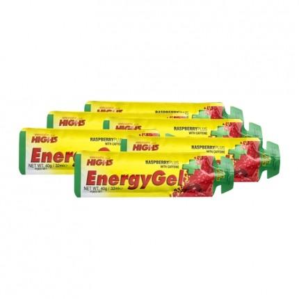 6 x High5 Energy Gel Himbeere