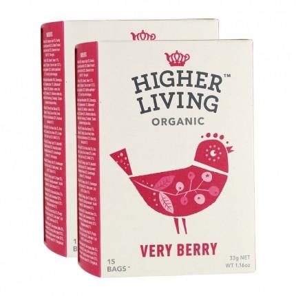 Higher Living Very Berry Früchte-Tee Doppelpack