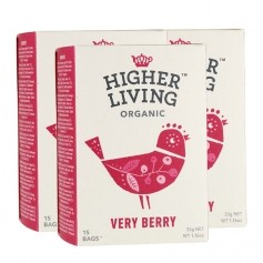 3x Higher Living Verry Berry Tea