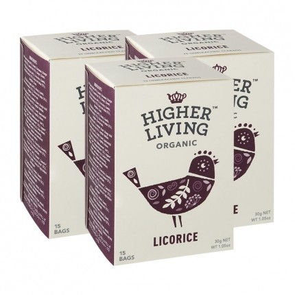 3x Higher Living Licorice Tea