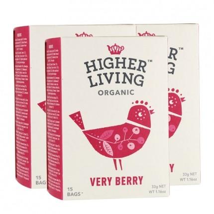 3x Higher Living Verry Berry Tea