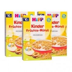 3 x HiPP Kinder Bio Früchte-Müesli