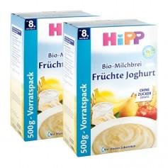 2 x HiPP Bio-Milchbrei Früchte Joghurt