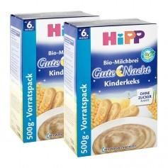 2 x HiPP Bio-Milchbrei Gute Nacht Kinderkeks